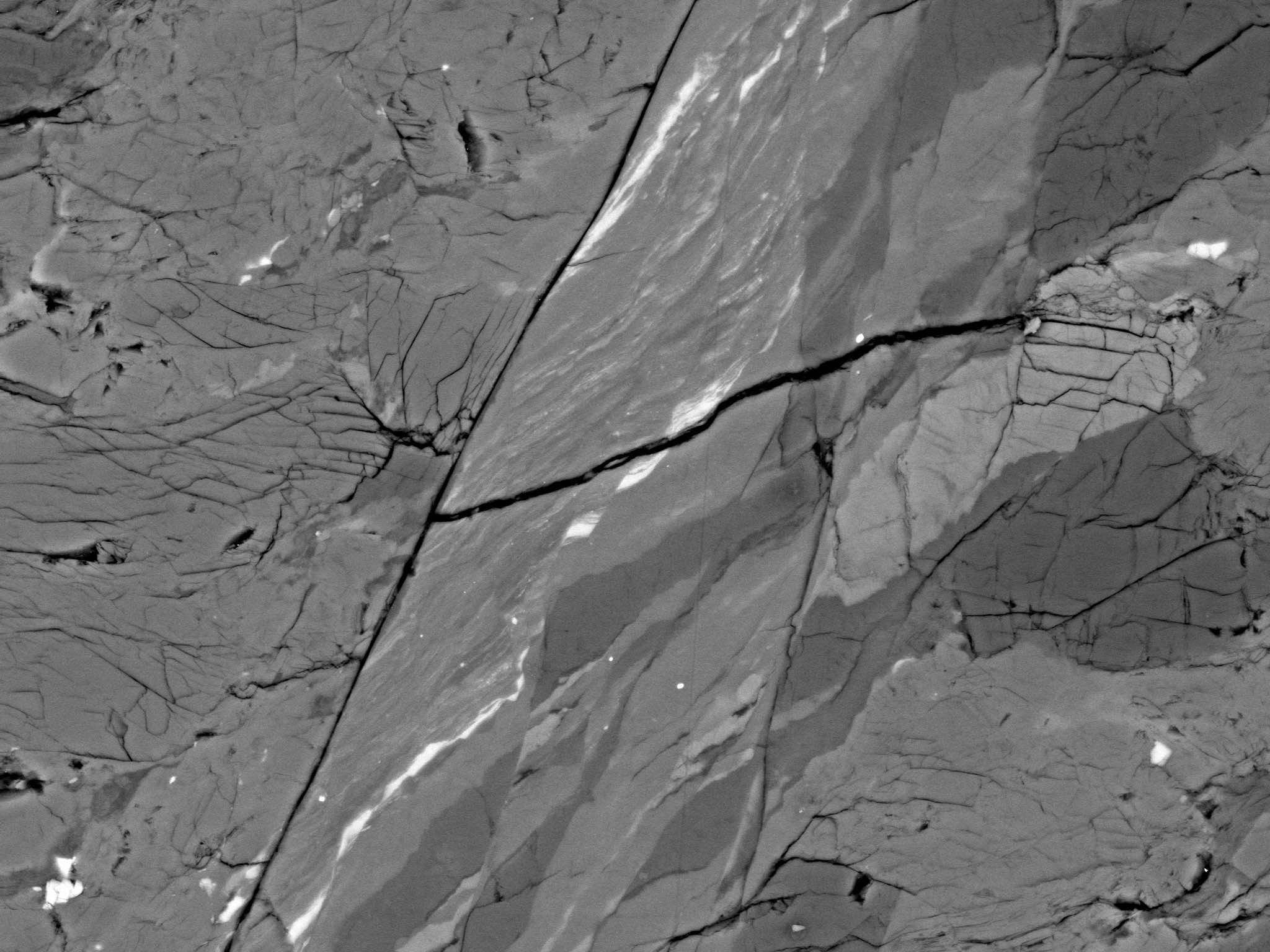 Zoom of the fault zone in the GL02 experiment.
